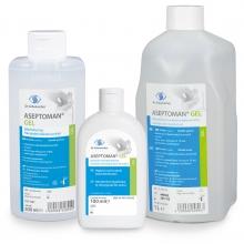 Aseptoman® Gel alkoholos kézfertőtlenítő gél, higiénés és sebészi kézfertőtlenítéshez