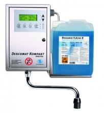 DESCOMAT KOMPAKT DIGITAL számítógép vezérlésű vegyszeradagoló eszközfertőtlenítő és -tisztító készítményekhez
