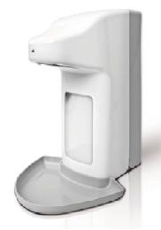 SPE TOUCHLESS 500/ SPE TOUCHLESS 1000  Szenzoros fali adagoló, műanyag kivitelben 500 ml-es vagy 1000 ml-es flakonhoz