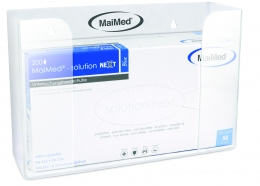 MaiMed - Akril kesztyűtartó box, 1 doboznak tartórugó nélküli kiszerelés